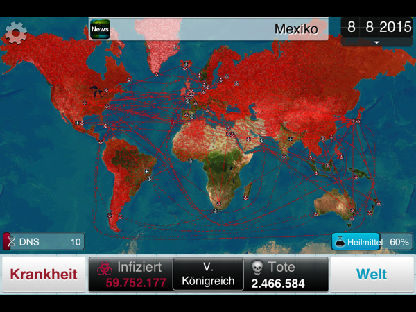 Android/iOS «Plague Inc.»